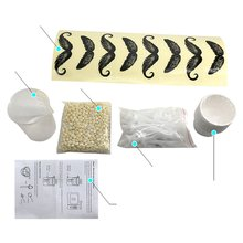 Портативный набор для удаления волос в носу для мужчин и женщин, восковой набор для удаления волос в носу для мужчин, косметический инструмент для удаления волос в носу, триммер для волос в носу