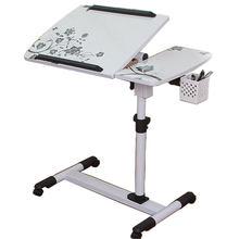 K-star dostawa normalny składany stolik pod komputer regulowany przenośny Laptop obróć blat stołu laptopa może być podnoszony stojące biurko