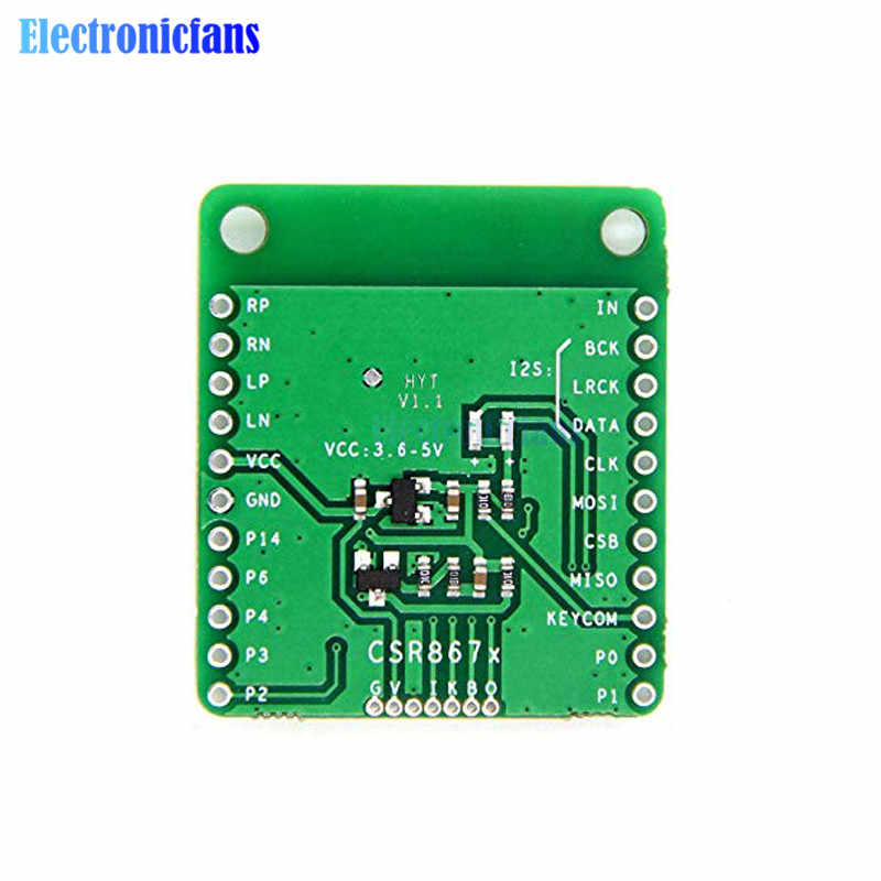 CSR8675 بلوتوث V5.0 منخفضة الطاقة بلوتوث وحدة صوت استقبال مجلس APTX-HD ضياع ضغط I2S الألياف SPDIF