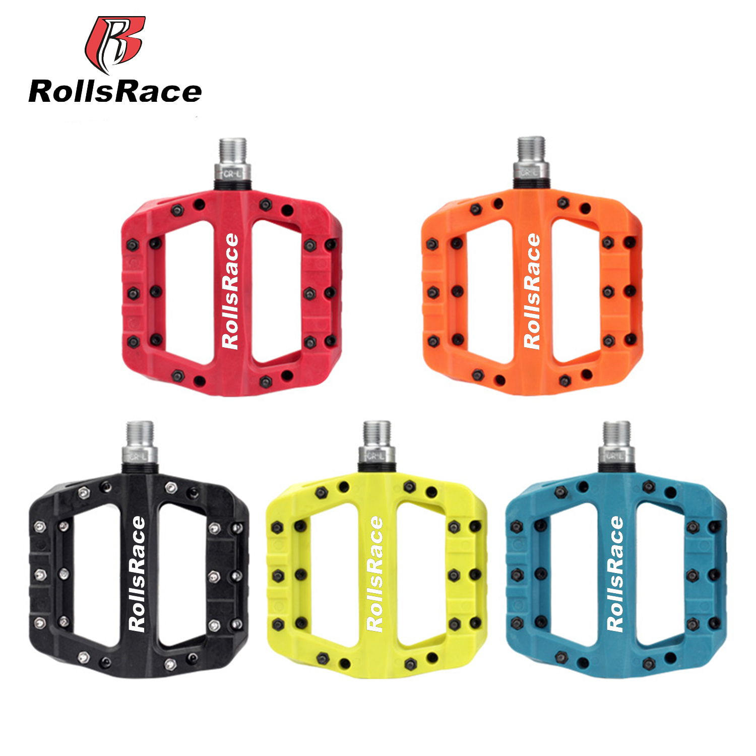 Colored Fixed Gear Road Bike Pedals 9//16 Platform