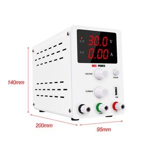 Image 2 - DC Labor Netzteil Einstellbar 30V 10A 60V 5A Bank Quelle labor Schalt netzteile Spannung Strom Regler