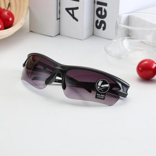 Óculos de sol para ciclismo proteção UV 400, proteção de olhos óculos de bicicleta Mountain Bike para ciclismo à prova de explosão esportes ao ar livre para moto 5