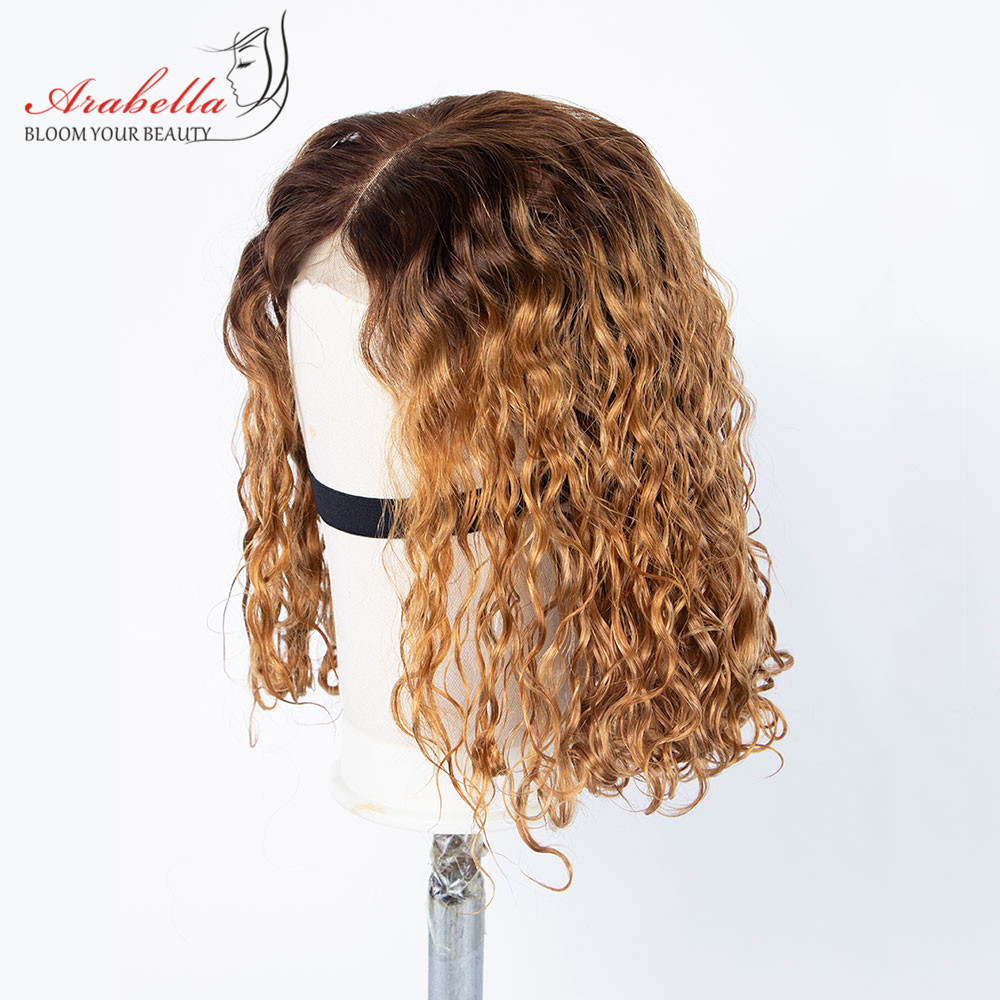 Water Wave Wig 100% Remy Human Hair 4/27 High Ratio Arabella Wig First Customer Enjoy 60%-70% Discount Contact Us