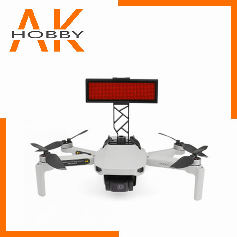 Mini Drone LED Displayer for DJI Mavic Mini Led Screen Board Bracket Graphic Advertising With Holder Mount Mavic Mini Accessory