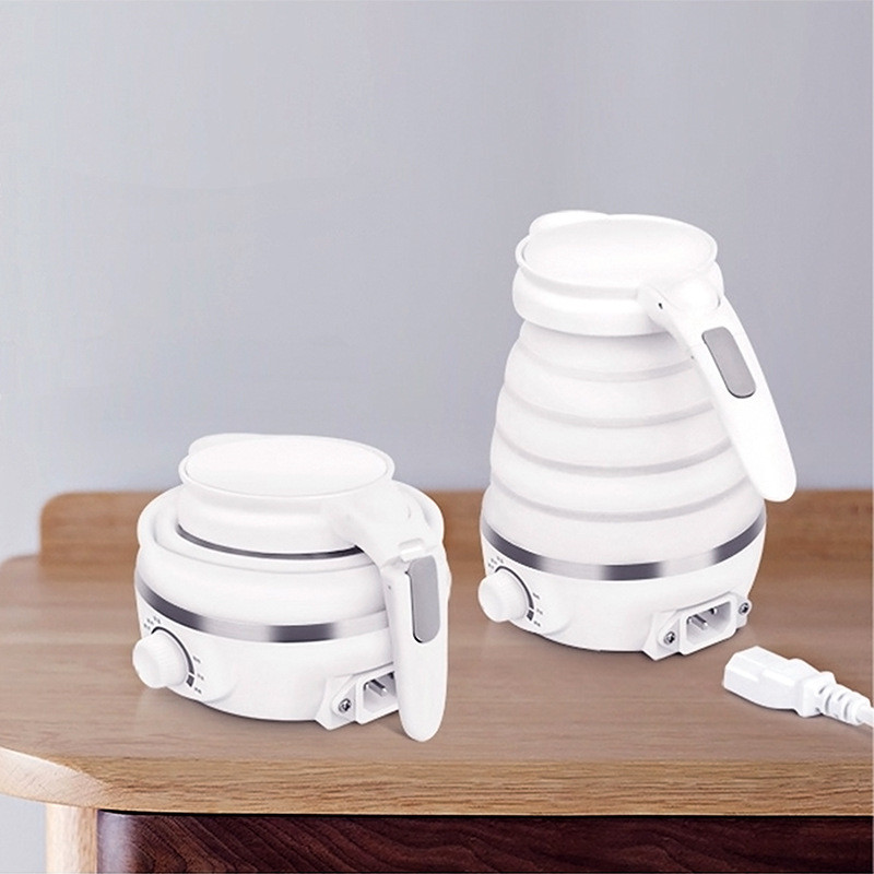 Folding Hot Water Bottle Travel Outdoor Folding Electric Kettle Home Appliance Water Bottle