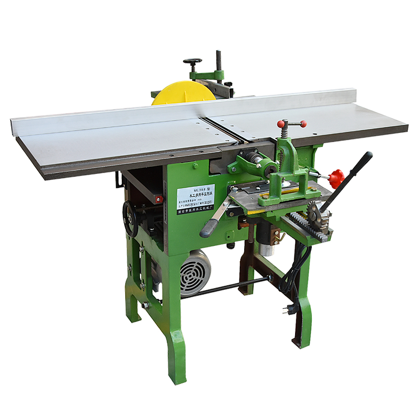 ML393B Multi-purpose Machine Tool Planer/ Chainsaw/ Electric Wood Planer Desktop Woodworking Machinery 220V/380V 2.2KW 6.5m/min