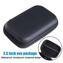 """2.5"""" HDD Storage Bag External USB Hard Drive Disk Pouch Earphone Bag Usb Cable Case Cover For PC Laptop Hard Disk Case коробка"""