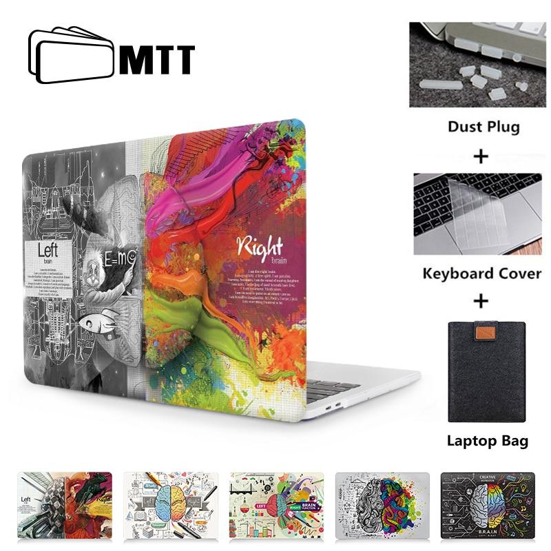 MTT Graffiti Case For Apple Macbook Air 11 13 Pro Retina 12 13 15 Inch Touch Bar Cover For Macbook Pro 13.3 15.4'' Laptop Case
