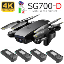 Drone Sg700d 4k Hd Dual Camera Wifi Transmission Fpv Optical Flow Stable Height Quadcopter Rc Helicopter Dron