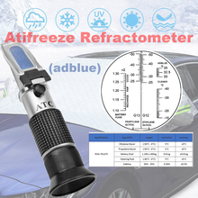 цена на Refractometer Antifreeze tester 5in1 Glycol and adblue 30-35% for car antifreeze tester coolant tester rha Refractometer ATC