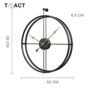Image 5 - 55 ซม.ขนาดใหญ่ Wall CLOCK ออกแบบโมเดิร์นนาฬิกาสำหรับตกแต่งบ้านนาฬิกาใหญ่สำนักงานยุโรปแขวนผนังนาฬิกาคริสต์มาสของขวัญ
