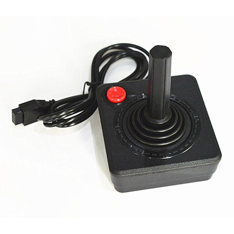 Gamepad Joystick-Controller Atari 2600-Console-System Classic Retro Ruitroliker for Black