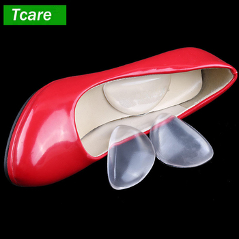 1Pair Foot Care Arch Support Gel Pads Insole for Flat Feet High Arch Cushions Relieves Pain Regain Your Original Stride image