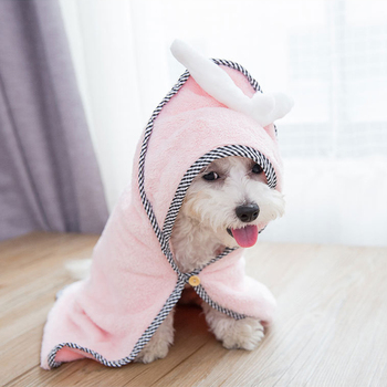 Microfiber Pet Dog Absorbent Bath Towel 1