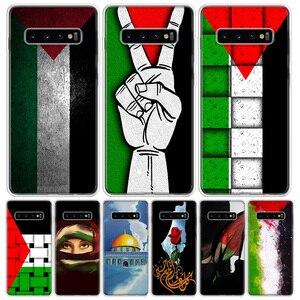 Палестина палаш по индивидуальному заказу крышка чехол для телефона для samsung Galaxy S10 + Note 10 9 8 S9 S8 J4 J6 J8 плюс S7 S6 2018 Coque