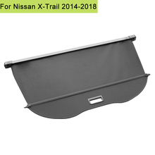 Car Interior Rear Trunk Cargo Luggage Cover Security Shade Shield Curtain Retractable Cargo Cover For Nissan X Trail 2014 2018