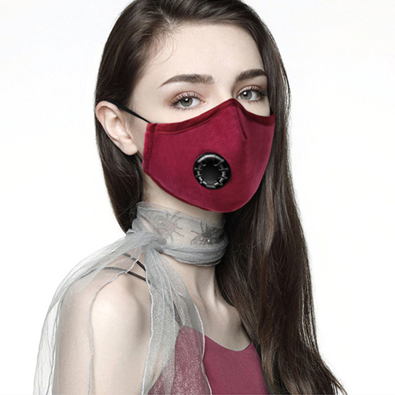 Anti Dust Face Mouth Cover Mask Dustproof Anti-bacterial Washable Reusable Respirator  KNG88