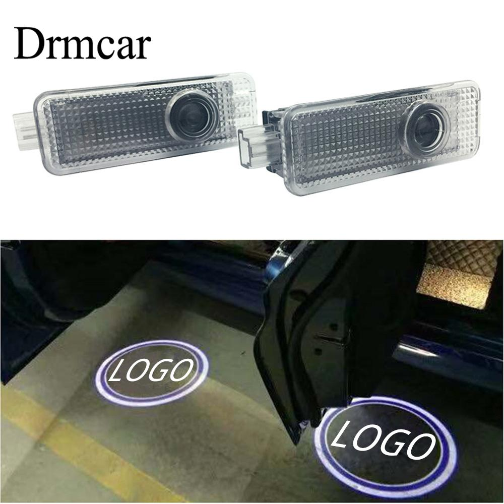 2X Car Welcome Light Door Logo Led Projection Lamp Laser For BMW E90 E91 E92 E93 M3 E60 E61 F10 F07 M5 E63 E64 F12 Car Led 12V