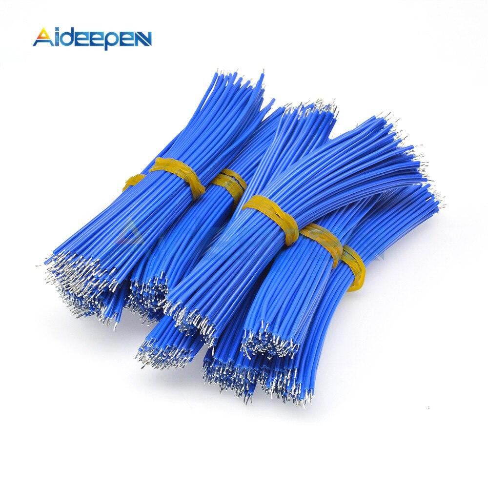 100 шт. UL1007 24AWG соединительный кабель комплект проводов 8 см Высота каблука 10 см, каблук 15 см, 20 см Луженая Медь проводящие провода 6 цветов PCB пр...