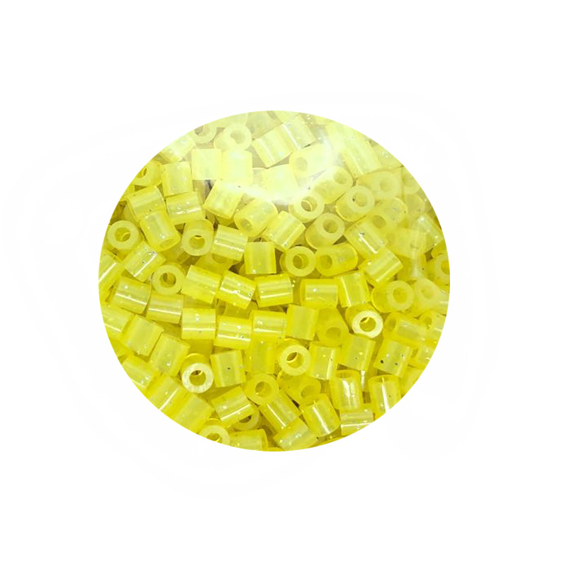 JINLETONG 1000Pcs Glitter Hama Beads 5mm DIY 3d puzzle Glitter hama fuse beads toys for children Puzzles fuse beads toys 9colors 10