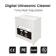 Digital Ultrasonic Cleaner Bath 4L Circuit Board Oil Dust Remove Hardware Ultra Sonic Washer Glassware Chain Ultrasound Cleaning