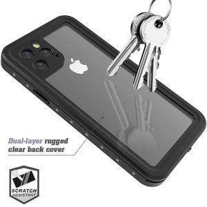 Image 5 - Iphone 11 11 プロマックス 11 プロケース IP68 防水 360 度耐衝撃カバー浮力綿 iphone 11 水中