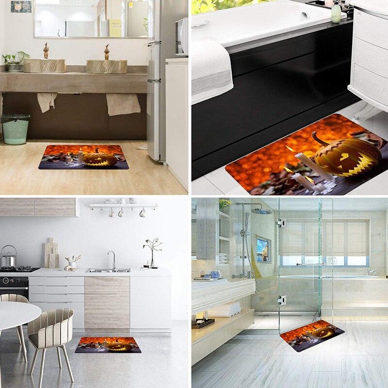 Halloween Rug Scene Arrangement Props Printed Carpet Floor Mat for Doorway Kitchen Bathroom SDF SHIP in Carpet from Home Garden