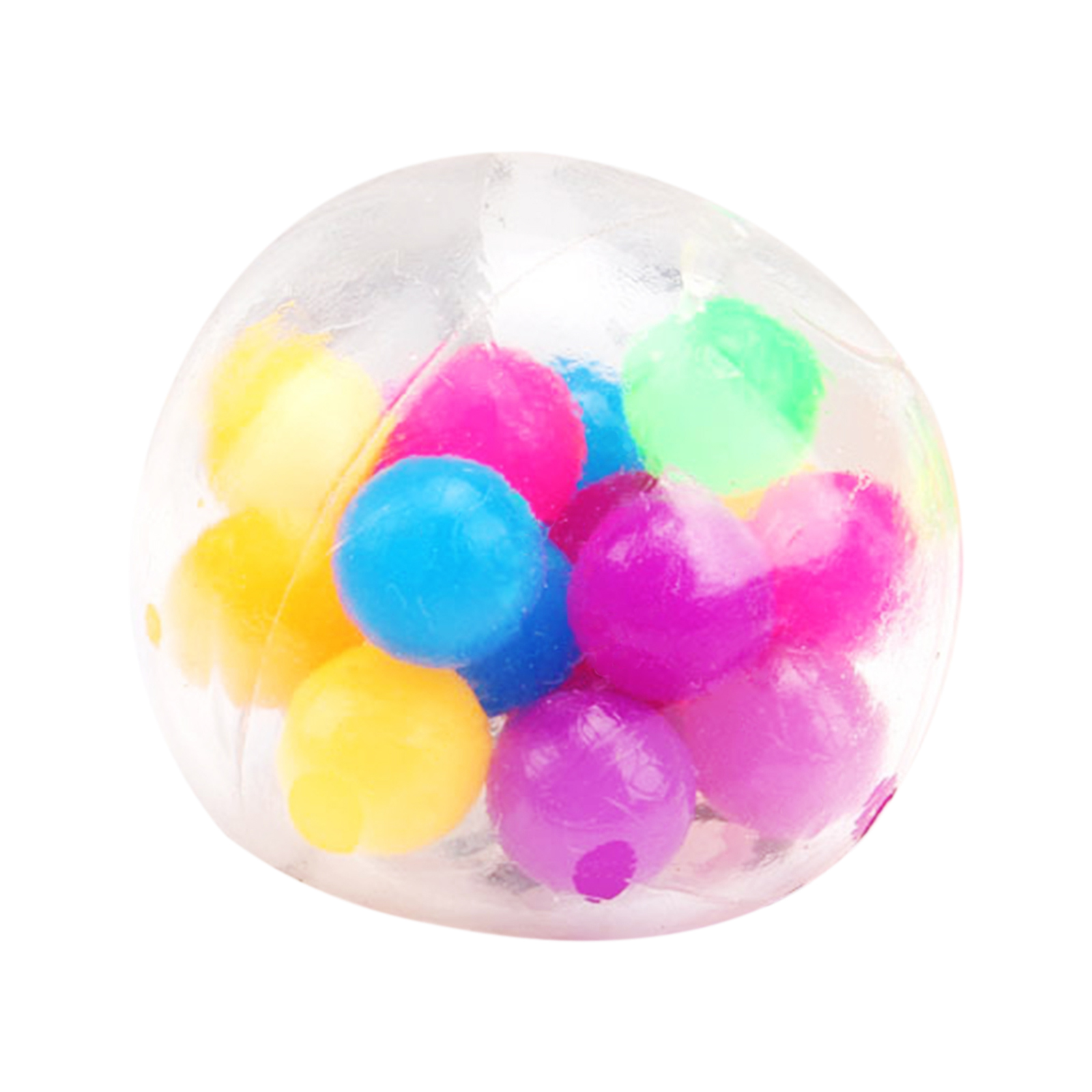 Squishy Toy Anti-Stress-Toys Rainbow-Ball Bead Squeezable-Stress Spongy Hot-Sale img3