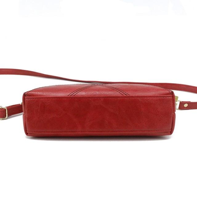 SMOOZA Retro Women Handbags Female Shoulder Crossbody Bags Ladies Artificial Leather Small Stripe Messenger Envelope Bags 3