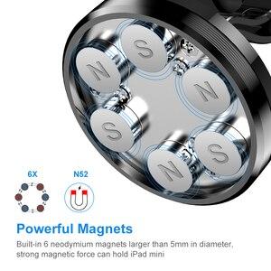Image 3 - Floveme Auto Telefoon Houder Magnetische Houder Magneet Telefoon Stand Voor Ipad Tablet Auto Houder Mobiele Ondersteuning Universele 360 Graden Mount