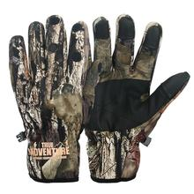 Camouflage Fishing Gloves Hunting Anti-Slip 3 Fingers Cut Outdoor Camping Cycling Half Finger Windproof warm Sport