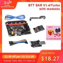 Bigtreetech Btt Skr V1.4 32 Bit Board Skr V1.4 Turbo Met Dcdc Modus V1.0 Wifi Btt Schrijver Upgrade Skr V1.3 3d Printer Onderdelen