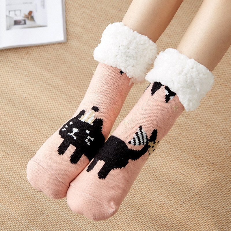 地毯袜批发_现货拖鞋袜睡眠家居袜套地板袜欧美女冬季地毯 - 阿里巴巴 - 1
