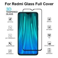 2 pezzi di vetro temperato 3D per Xiaomi Redmi Note 8 9 Pro Max 7 6 8T 9S 10X vetro protettivo per Redmi 8 8A 8T 9 9A protezione dello schermo