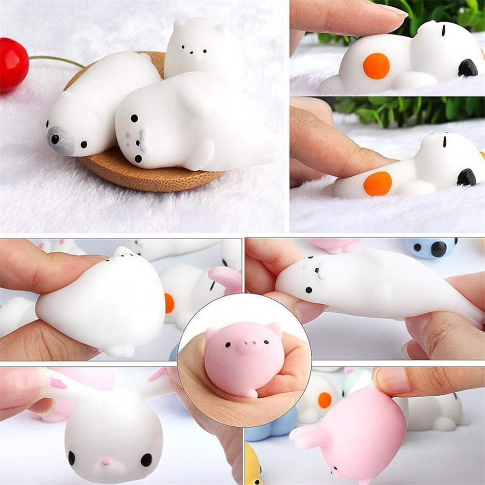 Mochi Squishy Toys Stress-Toy Moj Adult Child Cute Kawaii For Kids Gift with Bag Venting img3