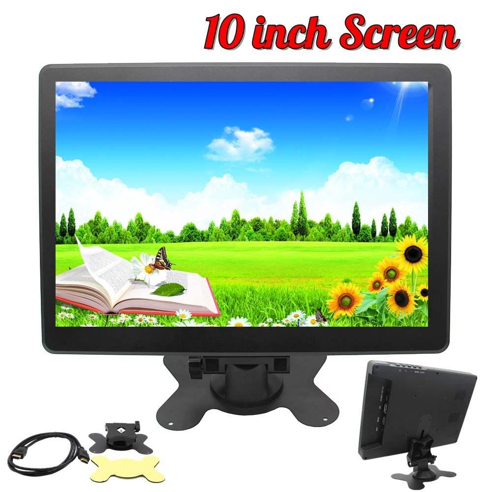 Nouveau 10 pouces HD 1080P moniteur 1920x1080 IPS écran HDMI LCD moniteurs étui pour Raspberry Pi pour PS3 4 pour 360 un pour Mac mini