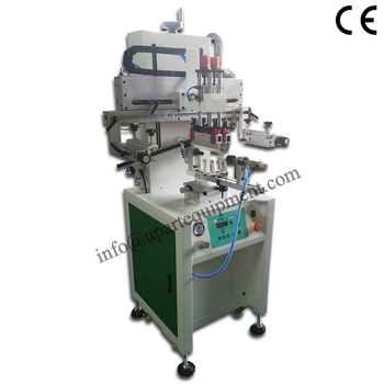 pneumatic cups oval automatic screen printing machine