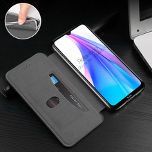 leather flip Magnetic case For xiaomi redmi note 8t 8 t Card Holder book phone cover redmi note 8 pro 8a note8 note8t 8pro coque