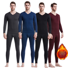 URSPORTTECH Mens Thermal Underwear Set Winter Long Johns Thick Warm Thermo Underwear Men Thermal Pants Winter Clothes Men Sets winter warm outdoor sports thermal underwear set polartec long johns men women thermal underwear top pants cycling base layers 4