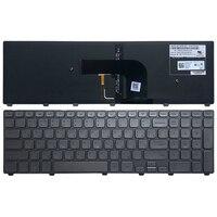 Nowy rosyjski dla Dell Inspiron 17 7000 7737 klawiatura laptopa podświetlany srebrny RU Teclado 0XVK13 MP 13B53SUJ442 w Zamienne klawiatury od Komputer i biuro na