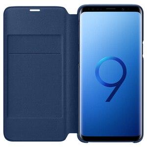 Image 3 - Chính Hãng SAMSUNG Bao Da LED Flip Cover Bao Da LED View Cover Etui Dành Cho Samsung Galaxy SAMSUNG Galaxy S9 G9600 S9 + S9 plus S9Plus G9650