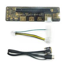 Pci-e exp gdc placa de vídeo portátil externo doca placa gráfica portátil docking station (mini versão interface pci-e)