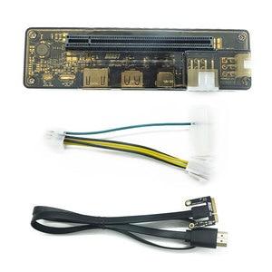 PCI-E EXP GDC External Laptop Video Card Dock Graphics Card Laptop Docking Station(Mini PCI-E interface Version)