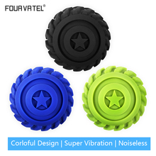 цена на Electric Roller Ball 4 Speed High Intensity High Vibrating Massage Ball Senoeory Muscle Vibration Massager Yoga Fitness Ball