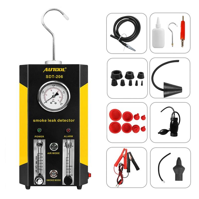 AUTOOL SDT-206 Car Smoke Generator for Cars Pipe Smoke Leak Detector Leak Locator Pipe Diagnostic Tool Wholesale