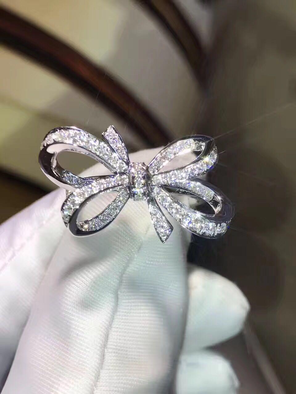 TR020 bijoux sona simulé des bagues de gemme pour les femmes, bague en argent Sterling anneau ouvert, anneau d'arc