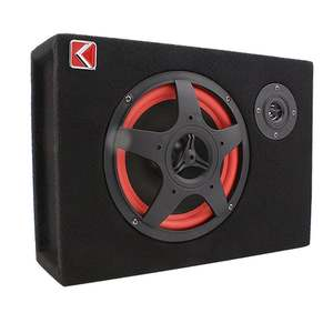 Bass Speaker Audio-Amplifier Subwoofer-Control Compact Under-Seat Powerful 6inch 35W