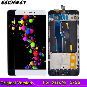 5.15LCD for Xiaomi Mi 5 Mi5S Mi 5S LCD Display Touch Screen Digitizer Assembly Mi5 Replacement Parts For Xiaomi Mi5S Display 6 39amoled for xiaomi mi 9 lcd mi9 display digitizer assembly touch screen m1903f replacement xiaomi mi9se lcd mi 9 mi9 se