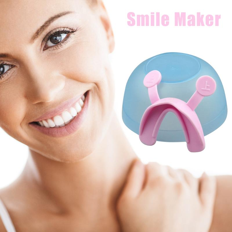 1pcs Training Mouth Smile Maker Trainer Brace Facial Beauty Tools Plastic Face Line Muscle Stretching Lifting Corrector