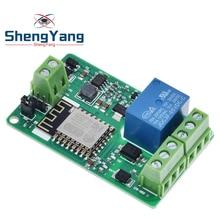 ESP8266 ESP-12F Relay Module 10A 220V Network Relay WIFI Module Input